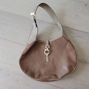Ferragamo beige Handbag